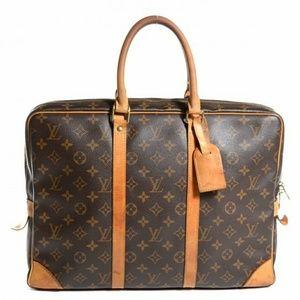 Rare Louis Vuitton Monogram Porte Brief Case